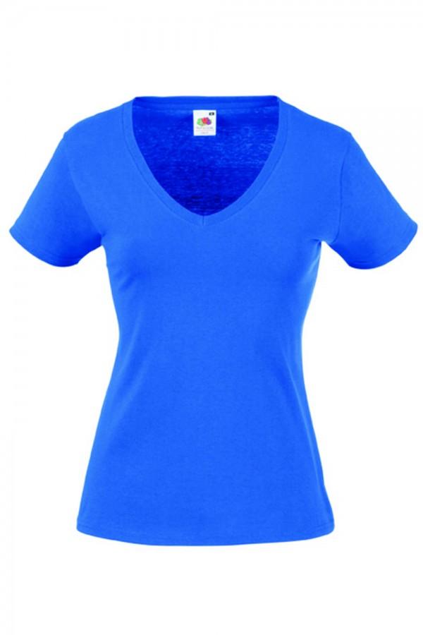 a83c220bd6 Taboo Hungary - Fruit of the Loom Karcsúsított kék női póló