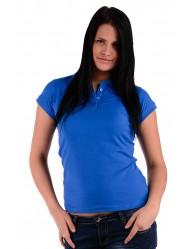 Női Galléros Póló - Kék