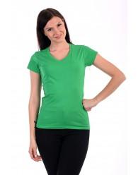 Fruit of the Loom Karcsúsított zöld női póló
