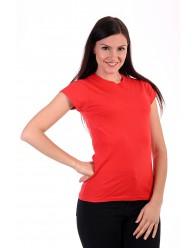 Női Póló rövid ujjú póló piros