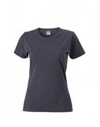 James & Nicholson szürke Női Slim Fit póló